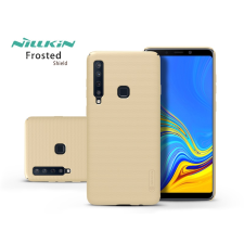 Nillkin Samsung A920F Galaxy A9 (2018) hátlap - Nillkin Frosted Shield - gold tok és táska