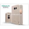 Nillkin Samsung G930F Galaxy S7 oldalra nyíló flipes tok - Nillkin Sparkle - golden