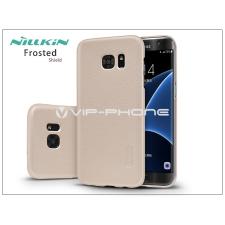 Nillkin Samsung G935F Galaxy S7 Edge hátlap képernyővédő fóliával - Nillkin Frosted Shield - golden tok és táska