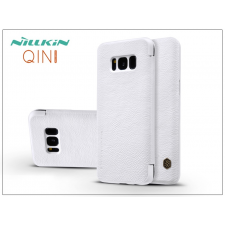 Nillkin Samsung G950F Galaxy S8 oldalra nyíló flipes tok - Nillkin Qin - fehér tok és táska