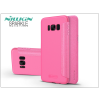 Nillkin Samsung G950F Galaxy S8 oldalra nyíló flipes tok - Nillkin Sparkle - pink