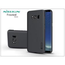 Nillkin Samsung G955F Galaxy S8 Plus hátlap képernyővédő fóliával - Nillkin Frosted Shield - fekete tok és táska