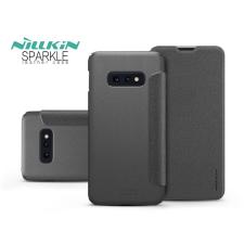 Nillkin Samsung G970U Galaxy S10e oldalra nyíló flipes tok - Nillkin Sparkle - fekete tok és táska