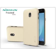 Nillkin Samsung J330F Galaxy J3 (2017) hátlap képernyővédő fóliával - Nillkin Frosted Shield - gold tok és táska