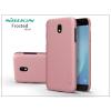 Nillkin Samsung J530F Galaxy J5 (2017) hátlap képernyővédő fóliával - Nillkin Frosted Shield - rose gold