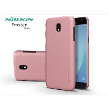 Nillkin Samsung J530F Galaxy J5 (2017) hátlap képernyővédő fóliával - Nillkin Frosted Shield - rose gold tok és táska