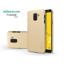Nillkin Samsung J600F Galaxy J6 (2018) hátlap képernyővédő fóliával - Nillkin Frosted Shield - gold tok és táska