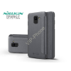 Nillkin Samsung J600F Galaxy J6 (2018) oldalra nyíló flipes tok - Nillkin Sparkle - fekete
