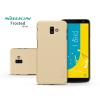 Nillkin Samsung J610F Galaxy J6 Plus hátlap - Nillkin Frosted Shield - gold