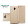 Nillkin Samsung J610F Galaxy J6 Plus oldalra nyíló flipes tok - Nillkin Sparkle - gold