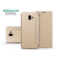 Nillkin Samsung J610F Galaxy J6 Plus oldalra nyíló flipes tok - Nillkin Sparkle - gold tok és táska