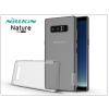 Nillkin Samsung N950F Galaxy Note 8 szilikon hátlap - Nillkin Nature - szürke
