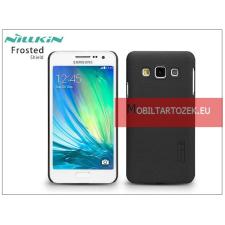 Nillkin Samsung SM-A300F Galaxy A3 hátlap képernyővédő fóliával - Nillkin Frosted Shield - fekete tok és táska