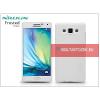 Nillkin Samsung SM-A500F Galaxy A5 hátlap képernyővédő fóliával - Nillkin Frosted Shield - fehér