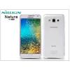 Nillkin Samsung SM-E700F Galaxy E7 szilikon hátlap - Nillkin Nature - transparent