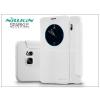 Nillkin Samsung SM-G928 Galaxy S6 Edge+ oldalra nyíló flipes tok - Nillkin Sparkle - fehér
