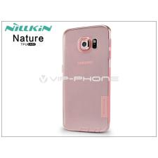 Nillkin Samsung SM-G928 Galaxy S6 Edge+ szilikon hátlap - Nillkin Nature - pink tok és táska