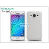 Nillkin Samsung SM-J100 Galaxy J1 hátlap képernyővédő fóliával - Nillkin Frosted Shield - fehér