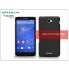 Nillkin Sony Xperia E4 (E2104/E2105) hátlap képernyővédő fóliával - Nillkin Frosted Shield - fekete