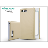 Nillkin Sony Xperia X Compact (F5321) hátlap képernyővédő fóliával - Nillkin Frosted Shield - gold