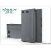 Nillkin Sony Xperia XZ1 Compact (G8441) oldalra nyíló flipes tok - Nillkin Sparkle - fekete