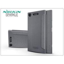 Nillkin Sony Xperia XZ1 (G8341) oldalra nyíló flipes tok - Nillkin Sparkle - fekete tok és táska
