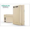 Nillkin Sony Xperia XZ1 (G8341) oldalra nyíló flipes tok - Nillkin Sparkle - gold