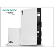 Nillkin Sony Xperia Z5 Premium (E6853) hátlap képernyővédő fóliával - Nillkin Frosted Shield - fehér tok és táska