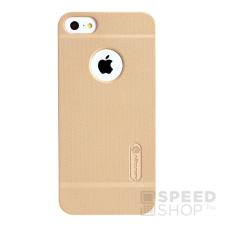 Nillkin Super Frosted hátlap tok Apple iPhone SE/5/5S, arany + ajándék kijelzővédő fólia tok és táska