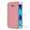 Nillkin Super Frosted hátlap tok Samsung A320 Galaxy A3 (2017), rozéarany + ajándék kijelzővédő fólia