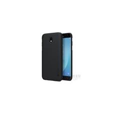 Nillkin Super Frosted hátlap tok Samsung J730 Galaxy J7 2017, fekete + ajándék kijelzővédő fólia tok és táska