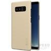 Nillkin Super Frosted hátlap tok Samsung N950 Galaxy Note 8, arany + ajándék kijelzővédő fólia