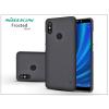 Nillkin Xiaomi Mi A2 hátlap képernyővédő fóliával - Nillkin Frosted Shield - fekete