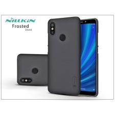 Nillkin Xiaomi Mi A2 hátlap képernyővédő fóliával - Nillkin Frosted Shield - fekete tok és táska