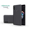 Nillkin Xiaomi Redmi Note 5/Note 5 Pro hátlap képernyővédő fóliával - Nillkin Frosted Shield - fekete