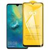 Nincs info Huawei Nova 5T kijelzővédő edzett üvegfólia, teljes képernyős, ujjlenyomatolvasó támogatott (9H, 9D, fekete)