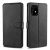 Nincs info Samsung Galaxy A91 oldalra nyíló, bőr, mágnes záras, kártyatartós tok, fekete