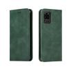Nincs info Samsung Galaxy S20 Ultra oldalra nyíló, bőr, mágnes záras, kártyatartós tok, zöld