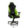 Nitro Concepts S300 Gamer szék Atomic Green - Fekete/Zöld