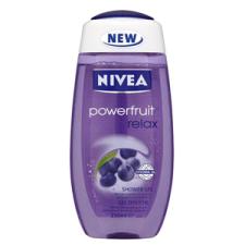 Nivea Powerfruit Relax Tusfürdő 250 ml Női tusfürdők