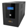 Njoy Szünetmentes 2000VA - Cadu 2000 (4 Schuko, line-interaktív, USB menedzsment, RJ11/45 vonalvédelem(1Gb/s), fekete)