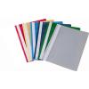 No-name Gyorsfűző lefűzhető műanyag A4 S.KÉK 25db/csomag