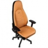 NOBLE CHAIRS Noblechairs ICON Bőr Gamer szék - Konyak/Fekete