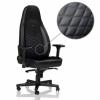 Noblechairs Gamer szék Noblechairs ICON Fekete/Kék