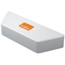 NOBO Mágneses táblatörlő fehértáblához, NOBO  fehér ajándéktárgy