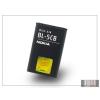 Nokia 100/1616/1800/Asha 311 gyári akkumulátor - Li-Ion 800 mAh - BL-5CB (csomagolás nélküli)