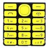 Nokia 206 billentyűzet sárga*