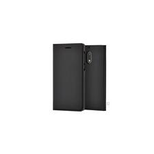 Nokia 5 gyári flip tok, fekete, CP-302 tok és táska