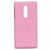 Nokia 5, Műanyag hátlap védőtok, gumírozott, rózsaszín
