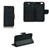 Nokia 5, Oldalra nyíló tok, stand, Fancy Book, fekete